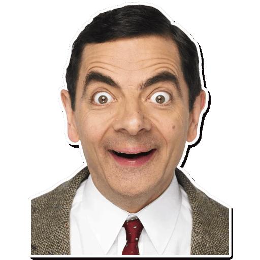 Sticker Maker Mr Bean